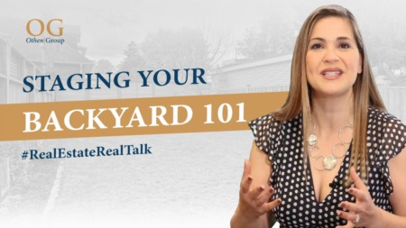 Staging Your Backyard!