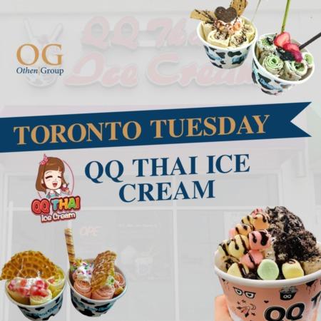 QQ Thai Rolled Ice Cream!