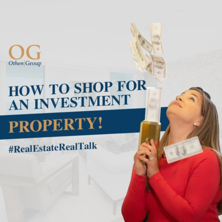 How to shop for an investment property!