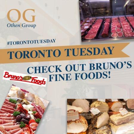 We're at Bruno's Fine Foods!