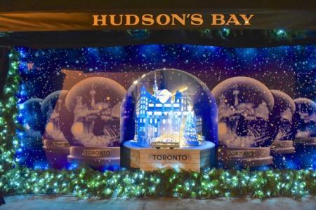 Hudson's Bay Holiday Windows