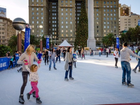 Free Skate Rink At Union Station!