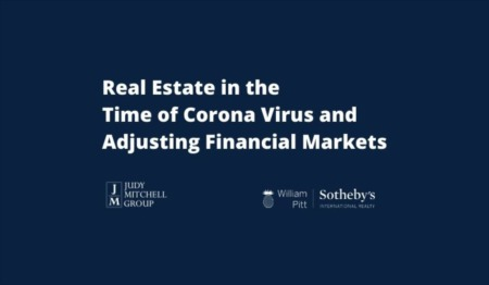 Real Estate in the Time of Corona Virus and Adjusting Financial Markets