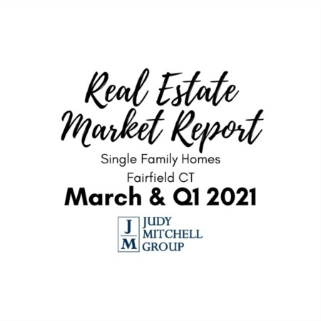 Fairfield Real Estate Market Report - March and First Quarter 2021