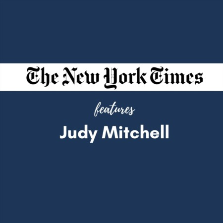 The New York Times Features Judy Mitchell
