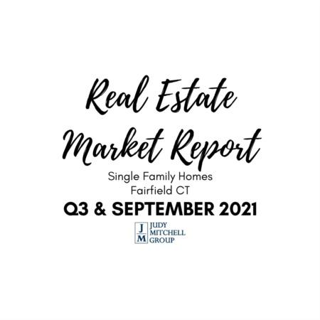 Fairfield Real Estate Market Report - September 2021