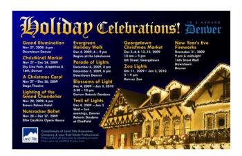 Holiday Events in Denver Colorado 2009