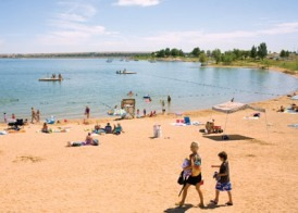 Swimming and Summer Fun - Boulder Colorado