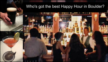 The Best Happy Hour Locations in Boulder