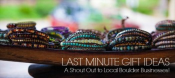 LAST MINUTE GIFT IDEAS - A Shout Out to Support Local!