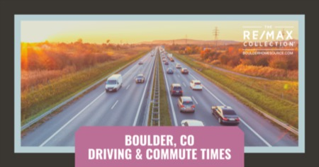 Boulder Driving & Commute Times: Driving & Commuting in Boulder, CO