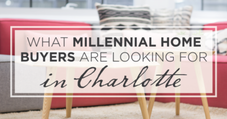 What Millennial Home Buyers are Looking for in Charlotte