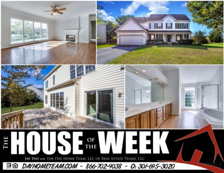 House of the Week- 1703 Dearbought Ct, Frederick MD