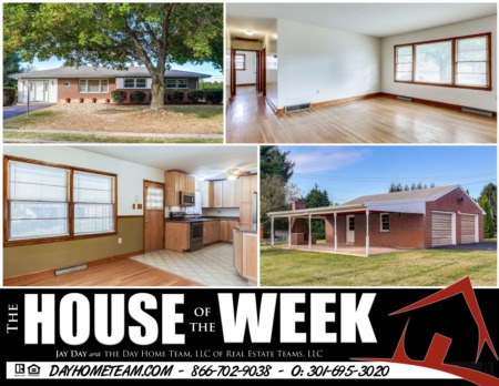 House of the Week - 11926 Iroquois Ave, Smithsburg MD