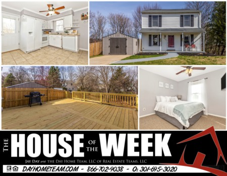 House of the Week - 503 Lewis Ct, Mount Airy, MD