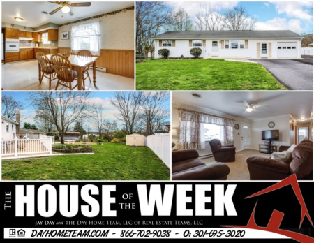 House of the Week- 10197 Crestview Dr, Frederick, MD