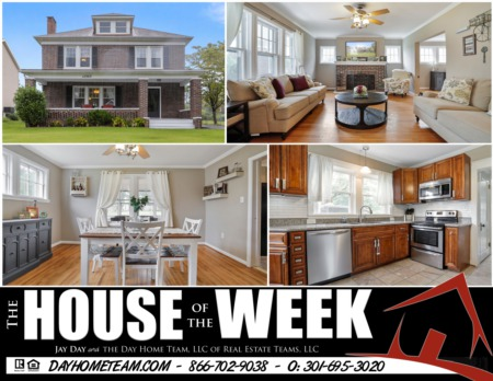 House of the Week- 12303 Delwood Ave Hagerstown, MD