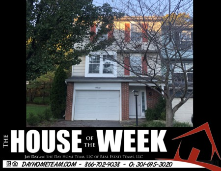 House of the Week- 17918 Cottonwood Ter, Gaithersburg, MD
