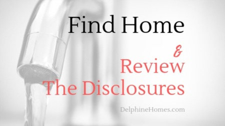 Find Home And Review The Disclosures