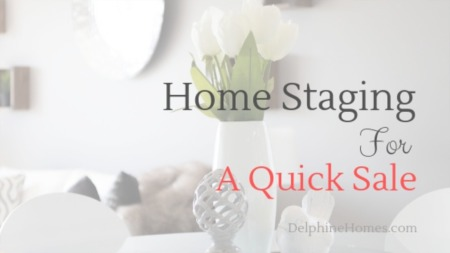 Home Staging For A Quick Sale