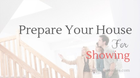 Prepare Your House For Showing