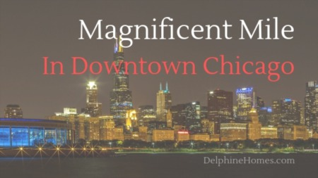 Magnificent Mile In Downtown Chicago
