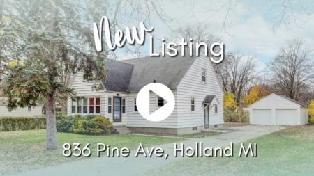 NEW LISTING | 836 Pine Ave, Holland, MI 49423