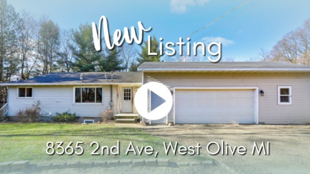NEW LISTING | 8365 2nd Ave, West Olive MI