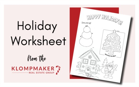 Happy Holidays Worksheet
