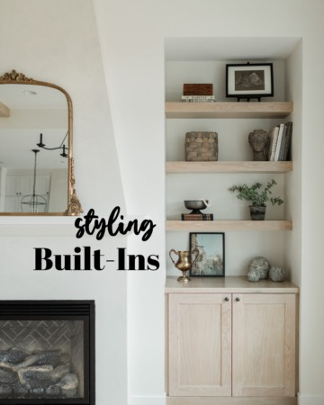 Styling Built - Ins