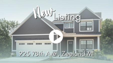 NEW LISTING | 925 78th Ave, Zeeland, MI 49464