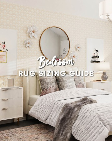 Bedroom Rug Sizing Guide