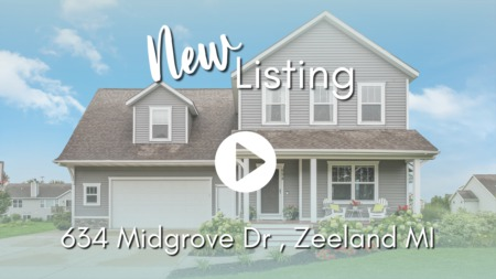 NEW LISTING | 634 Midgrove Dr, Zeeland MI
