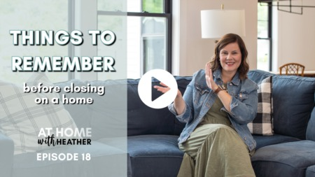 Things to Remember Before Closing on a Home