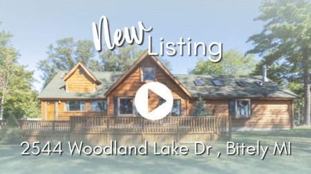 NEW LISTING | 2544 Woodland Lake Dr, Bitely MI