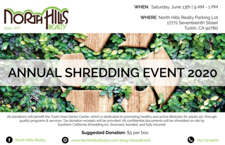 Annual Paper Shredding Event