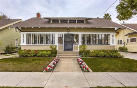 Beautifully Restored Craftsman in Old Towne Orange