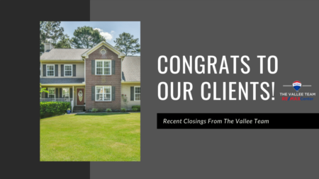 Recent Closings From The Vallee Team!