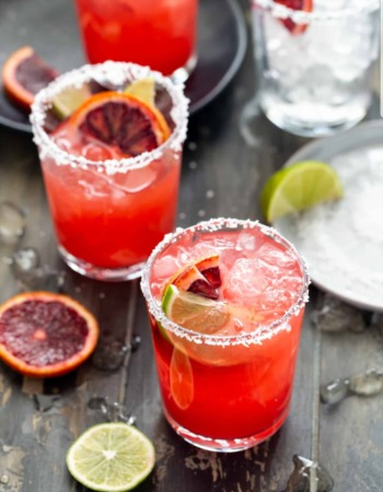 Thirsty Thursdays - Welcomes Spring - Blood Orange Margaritas