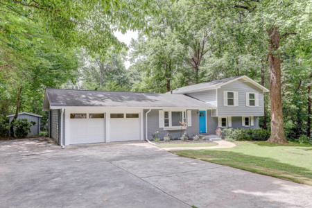 Dream Renovation; 4 Bedroom, Brick Home For Sale in Smyrna, GA