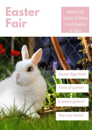 Easter Fair and Egg Hunt 2021