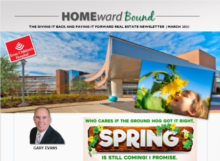 Homeward Bound - April 2021