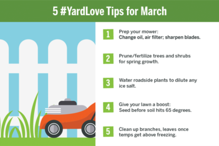 5 #YardLove Tips for March