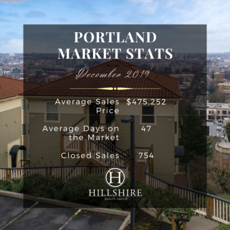 Portland Real Estate Market Update December 2019