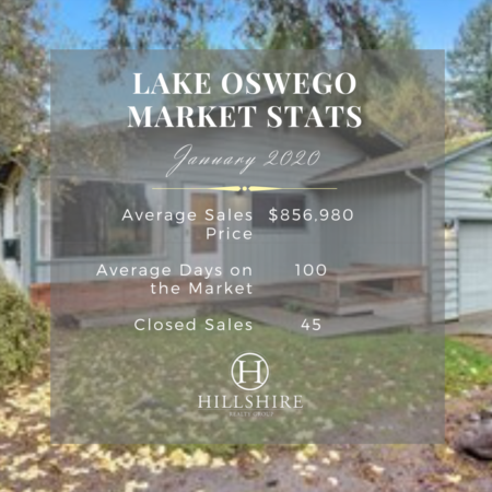 Lake Oswego Real Estate Market Update January 2020