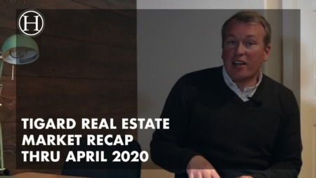 Video - Tigard Real Estate Market Recap Thru April 2020