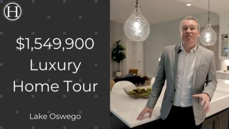 Inside a $1,549,900 Luxury Home In Lake Oswego Oregon