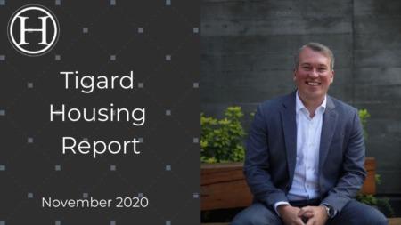 Tigard Housing Report November 2020