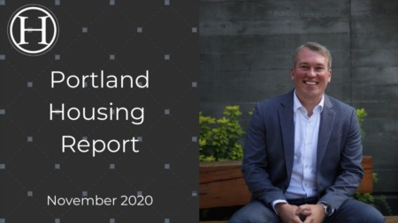 Portland Housing Market Report November 2020