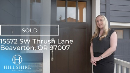 Just Sold! 15572 SW Thrush Ln Beaverton OR